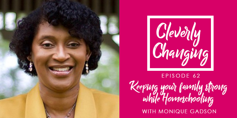 """""""I had to find things that took me out of the mommy, wife, clinician role. What did I want to do to maintain my mental wellbeing. For me it was gardening.- Dr. Monique Gadson on the Cleverly Changing Podcast"""