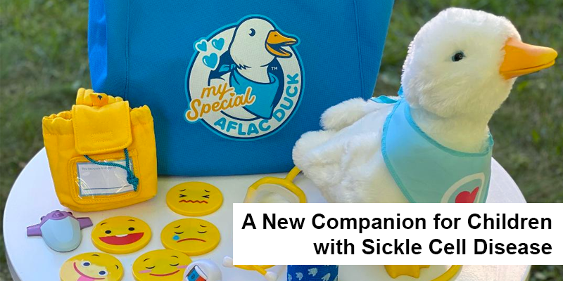 A companion for children with sickle cell disease