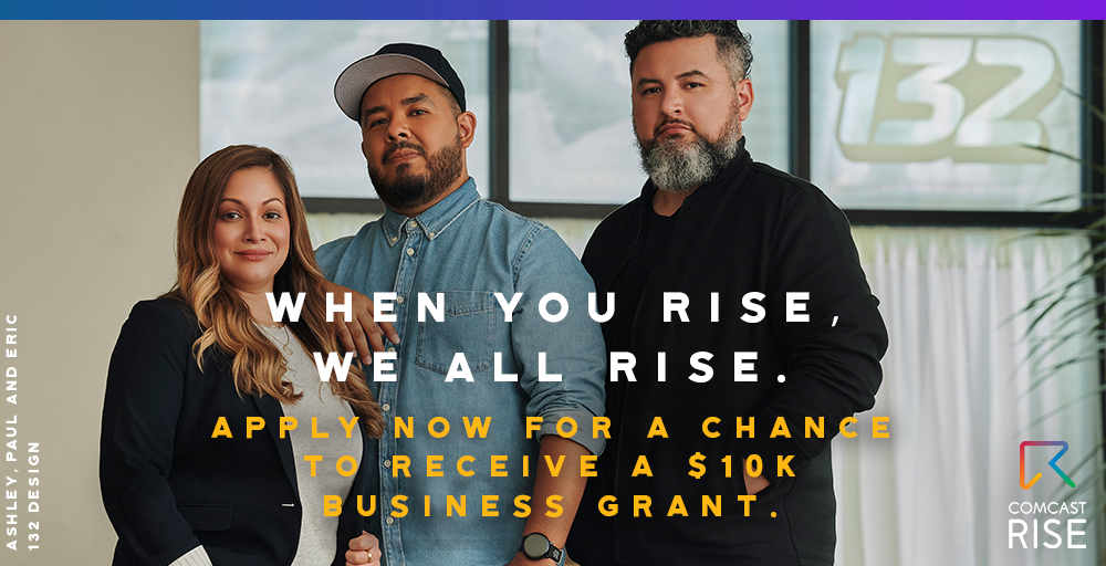 If you're a person of color who owns a small business in Washington, D.C., the Comcast RISE Investment Fund is a fantastic opportunity to help your small business level up.